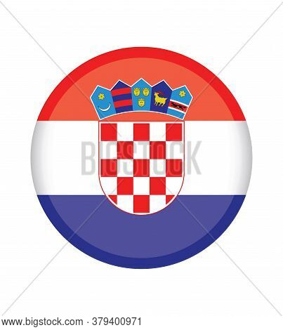 National Croatia Flag, Official Colors And Proportion Correctly. National Croatia Flag.