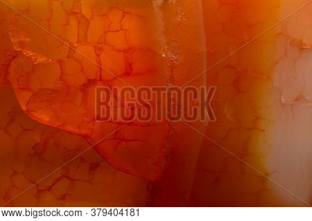 Natural Agate Stone. Colored Background For Design.