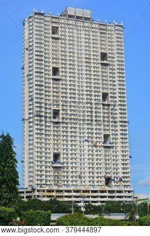 Manila, Ph - Sept 8 - Torre De Manila Condominium Facade On September 8, 2018 In Manila, Philippines