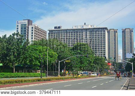 Manila, Ph - Sept 8 - Kalaw Avenue On September 8, 2018 In Manila, Philippines.