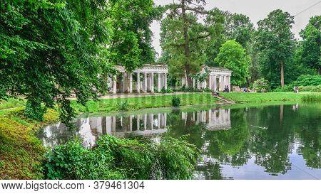 Alexandria Park In Bila Tserkva, Ukraine