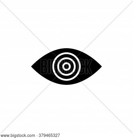 Illustration Vector Graphic Of Eye Icon Template