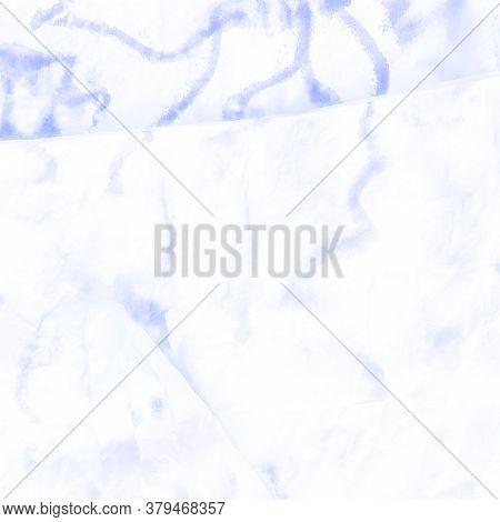 Ice Crystal Snowflake. Winter Indigo Ornament. Christmas Sky Decor. Ice Canvas. Watercolor Scandinav