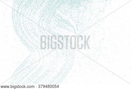 Grunge Texture. Distress Blue Rough Trace. Captivating Background. Noise Dirty Grunge Texture. Respl