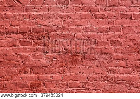 Red Brick Wall Texture Background In Denmark