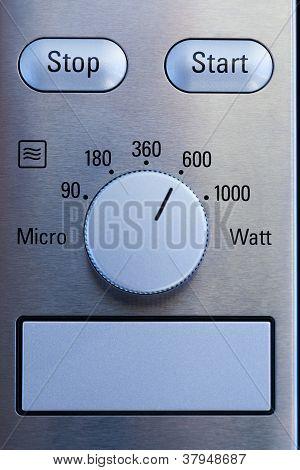 Microwave Control Panel