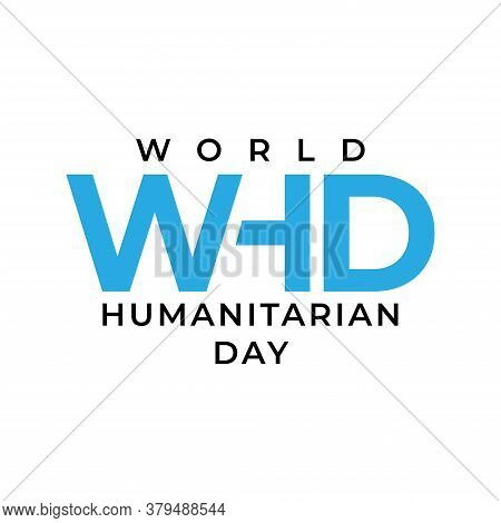 Vector Illustration Of World Humanitarian Day.