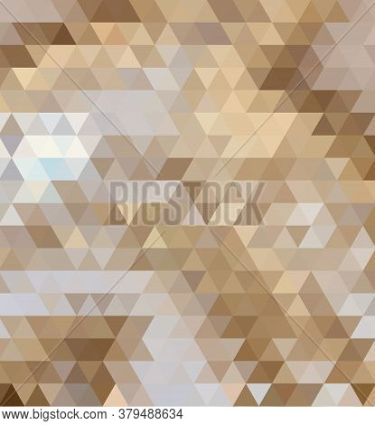 Brown Vector Geometric Background For Cover Design, Book Design, Website Background.