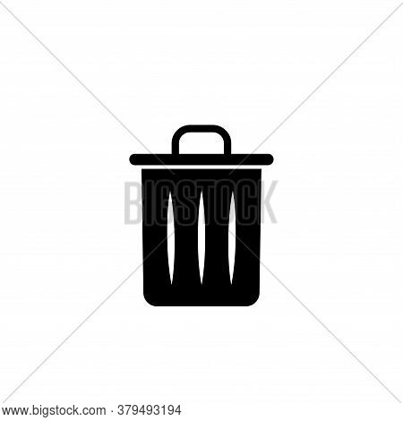 Illustration Vector Graphic Of Trashcan Icon Template
