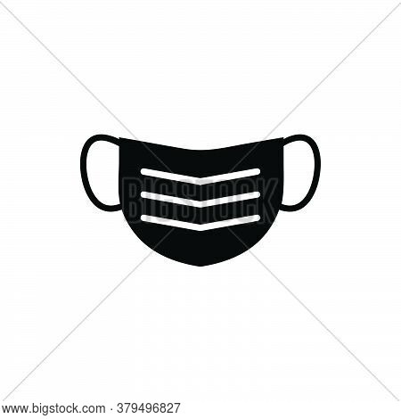 Face Mask Icon Vector. Face Mask Icon Isolated On White Background. Face Mask Icon Trendy And Modern