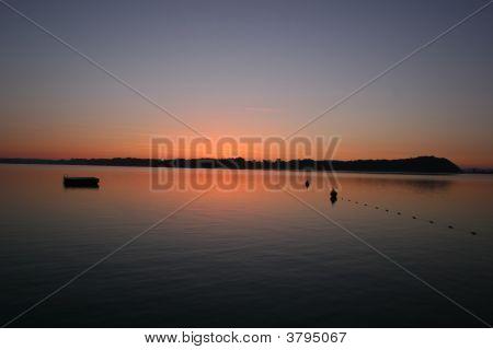Sunrise At Lake Chiemsee