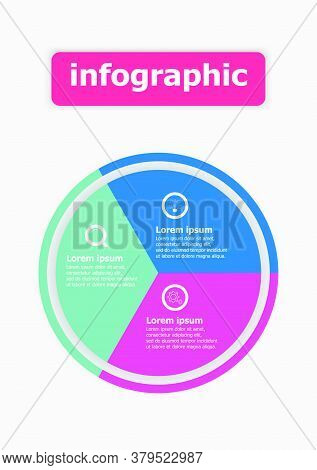 The Infographic Vector Design Template For Illustration. Planning Infographic Design Business Infogr