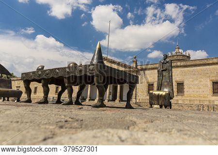 Cabañas Cultural Hospice. Architecture And Monuments Of The City Of Guadalajara, Jalisco, Mexico. Da