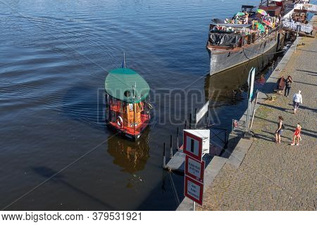 Prague - August 1st: Ferry