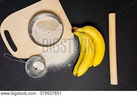 Bananas Flour Gut Health, Keto, Ketogenic, Low Carb Diet, Gluten Free, Planted Based Vegan Food