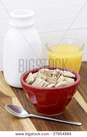 healthy wheat cerealbreakfast