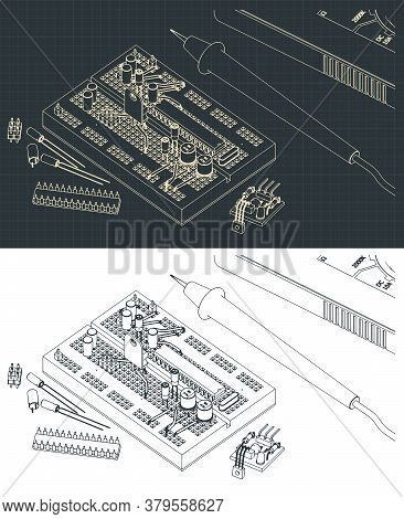Electronics Components Drawings
