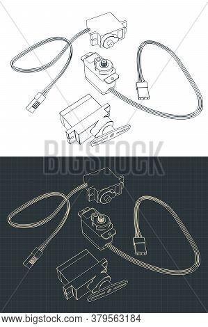 Micro Servos Drawings