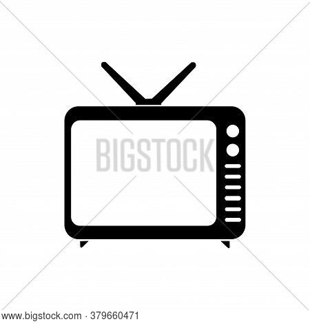 Television Icon Vector. Television Icon Isolated On White Background. Television Icon Simple And  Mo