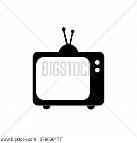 Television Icon Vector. Television Icon Isolated On White Backgrond. Television Icon Simple And Mode
