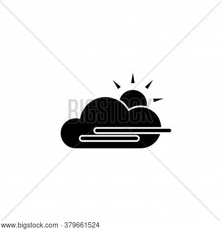 Illustration Vector Graphic Of Fog Day Icon