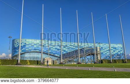 Iceberg Winter Sports Palace, Which Was Used During The 2014 Winter Olympics.