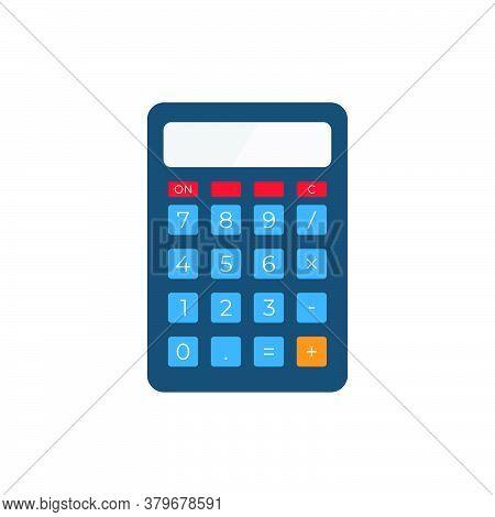 Calculator Icon Vector. Calculator Icon Isolated On White Background. Calculator Icon Simple And Mod