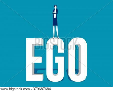Business People With High Ego And Are Showing Arrogance