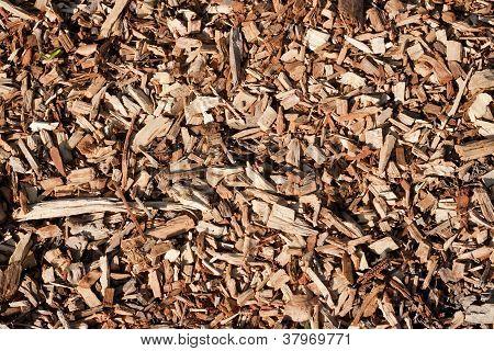 Seamless tiling woodchips