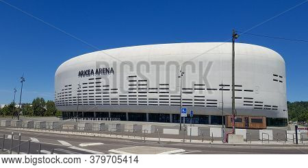 Bordeaux , Aquitaine / France - 07 30 2020 : Arena Arkéa With Logo And Text Sign Of Formerly Bordeau