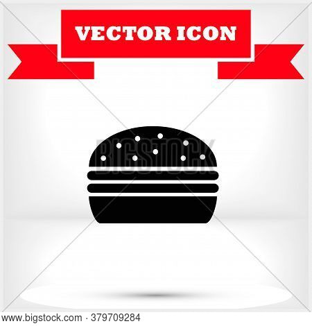 Burgeicon, Burgevector Vector Icon , Lorem Ipsum Flat Design