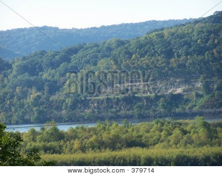 River Bluffs In Wisconsin