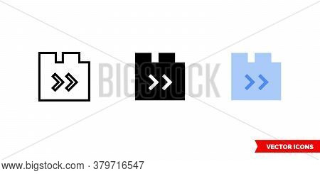 Switching Between Tabs Icon Of 3 Types. Isolated Vector Sign Symbol.