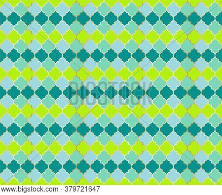 Middle East Mosque Vector Seamless Pattern. Ramadan Mubarak Muslim Background. Traditional Ramadan M