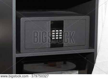 Digital Numeric Pad Safety Deposit Box In Closet