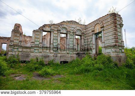The Ruins Of The Palace Von Der Osten Saken On The Border Of The Town Of Nemeshaevo And The Village