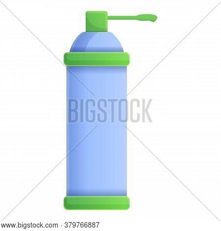 Dispenser Gas Bottle Disinfection Icon. Cartoon Of Dispenser Gas Bottle Disinfection Vector Icon For