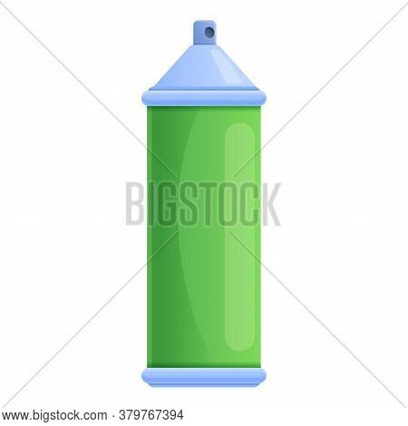 Metal Disinfection Gas Bottle Icon. Cartoon Of Metal Disinfection Gas Bottle Vector Icon For Web Des