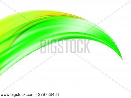 Color Brushstroke Oil Or Acrylic Paint Design Element For Presentations, Flyers, Leaflets, Postcards