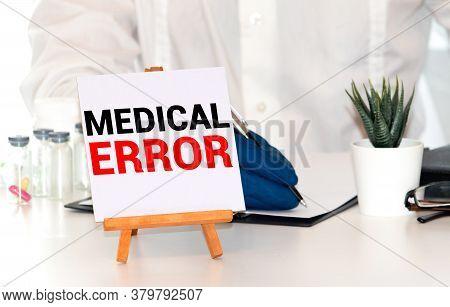 Medical Error, Medical Error Words As Medical Concept