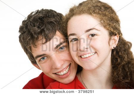 Adorable Teen Couple