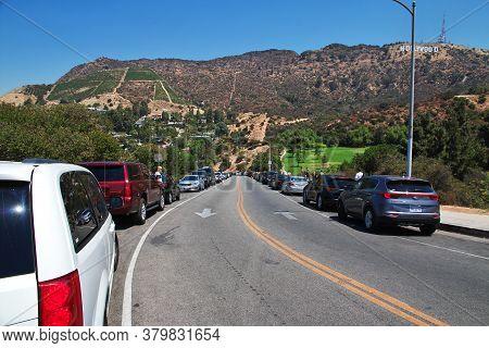 Los Angeles / United States - 15 Jul 2017: Hollywood, Los Angeles, California, Usa