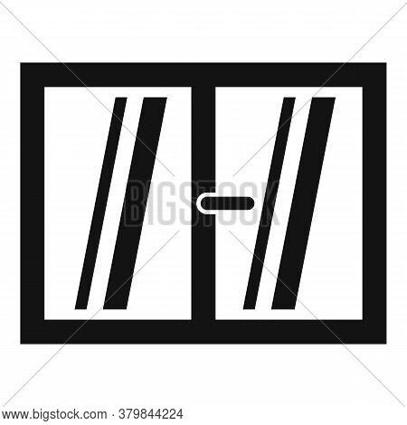 Plastic Window Installation Icon. Simple Illustration Of Plastic Window Installation Vector Icon For