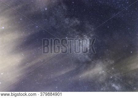 Milky Way Galaxy Background, Space Dust In The Universe