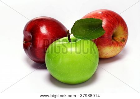 Green And Red Apple's