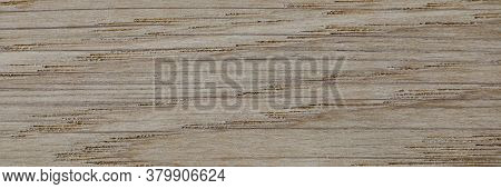 Close-up Of Grey Wood Texture Background. Surface Of Table Or Floor. Old Natural Pattern. Design Or