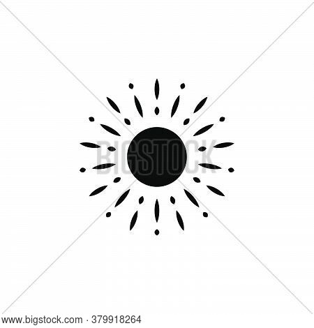 Illustration Vector Graphic Of Sun Icon Template