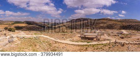 Biblical Samaria Landscapes Travel Of Israel Tourism