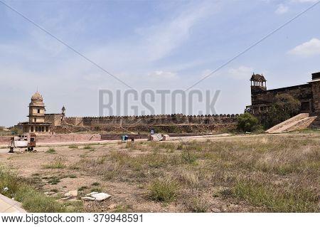 Gwalior, Madhya Pradesh/india : March 15, 2020 - Chhatri Of Bhim Singh Rana In Gwalior Fort