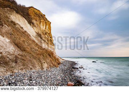 Coastline Of Baltic Sea Near Kap Arkona  Promontory, Northernmost Of Ruegen Island Landscape